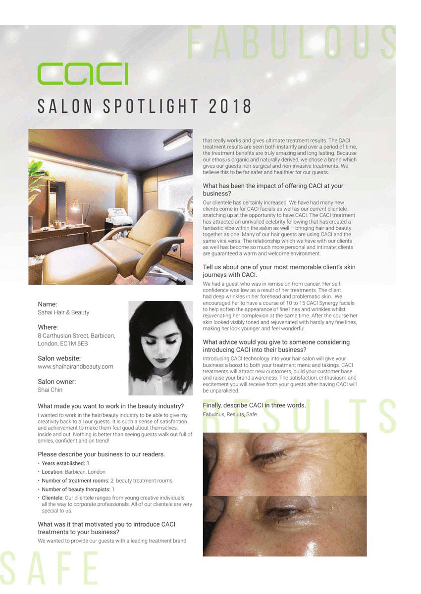 Salon Spotlight Interview